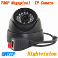 Onvif 720 P HD 1.0MP Mini Câmera 24 pcs LED Indoor Rede IP Câmera Dome IP P2P Apoio Telefone Inteligente vista