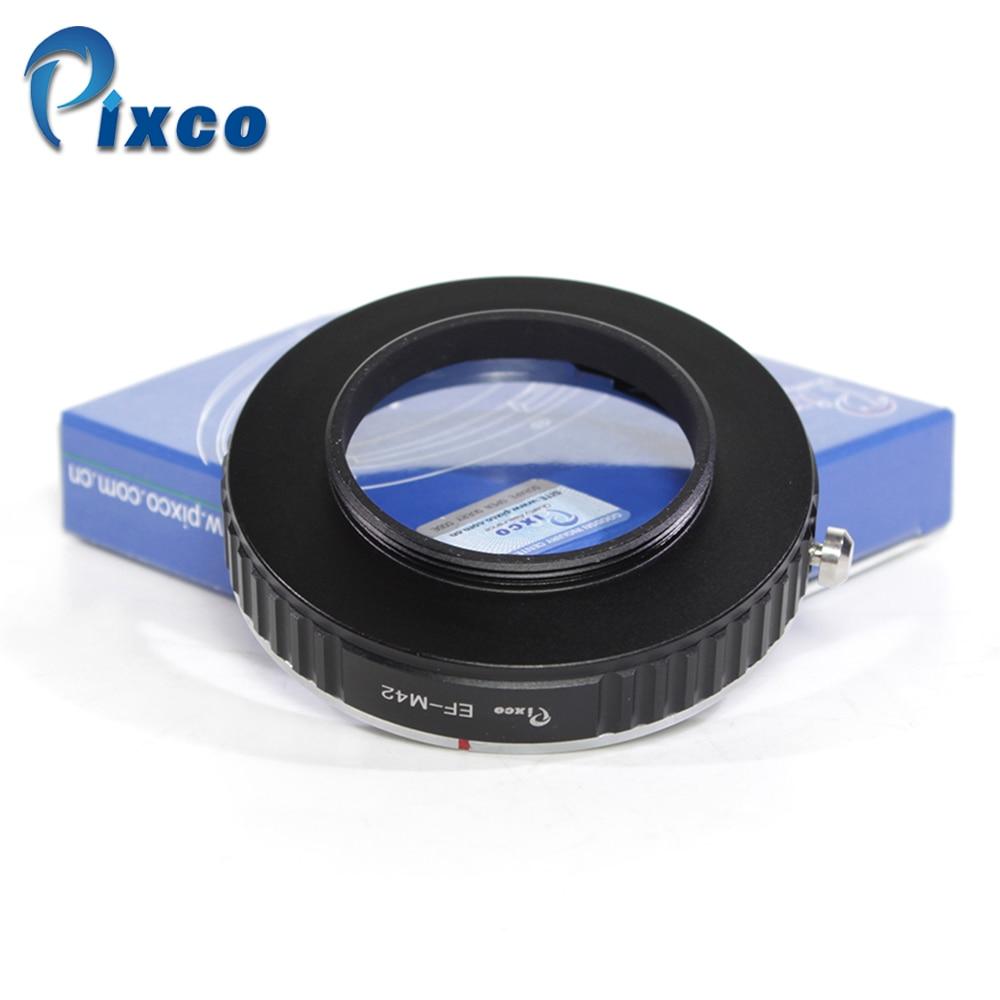 Pixco para EOS-M42, juego de macro adaptador de lente para Canon para EOS montura EF lente a M42 adaptador de montaje de tornillo para cámara