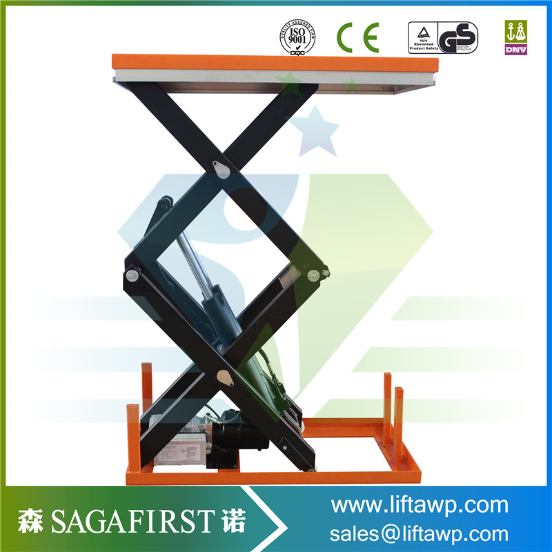 Factory/Warehouse Used Hydraulic Scissor Lift Table