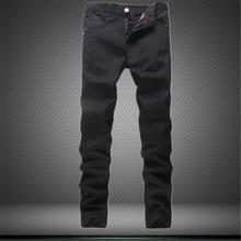 Aliexpress sellers are international big black iron nail fashion men's pants jeans urban personality