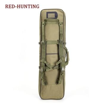 85cm/95cm/120cm Tactical Rifle Gun Shotgun Carry Case Bag Backpack Military Hunting Bag mud Army Green 2