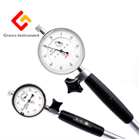 GROWS INSTRUMENT 0.01mm Dial Test Indicator Precision Accuracy Dial Inner Diameter Cylinder Table 10 18mm  0 3mm Bore Indicate