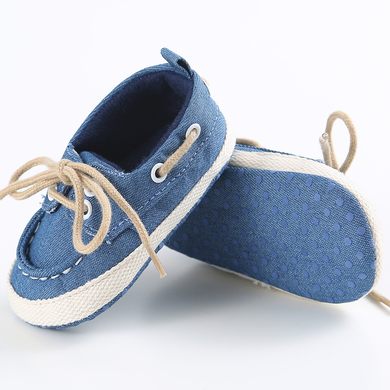 Canvas Casual Boys Baby Girl Shoes Comfortable Prewalker Walking Toddlers Soft-Sole Fashion Baby Outdoor Garden
