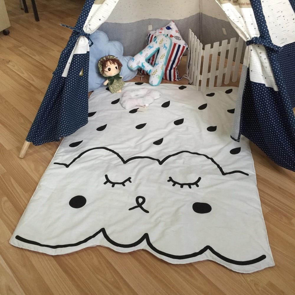 Muslin tree pasgeboren baby deken 100% katoen wit beddengoed cartoon - Beddegoed - Foto 4