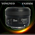 Free shipping!Yongnuo YN35MM 35mm F/2 Lens AF/MF Wide-Angle Auto Lens for Ni kon DSLR Camera