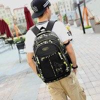 Teenage Backpacks For Teen Boys School Backpack Fashion Men Backpack Male Military Bagpack Youth Teenagers Boy