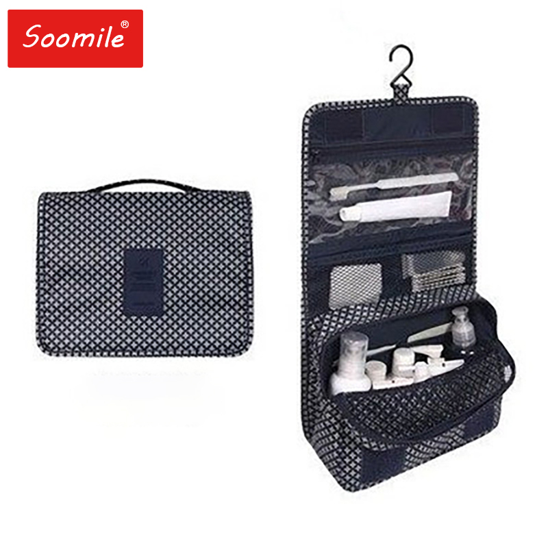Bath Hanging Travel Men Toiletry Bag Male Waterproof Travel Organizer Nylon Necessaire Make Up Bag Neceser Cosmetic Bags Kits