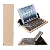 Universal Foldable Aluminum Bluetooth Keyboard For IPhone 5 5s 5c SE 6 6S 7 Plus For
