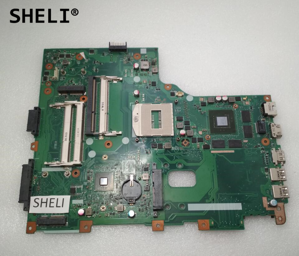 SHELI For ACER V3 772G Motherboard with GT760M Video Card 69N0AUM11B01 VA70HW