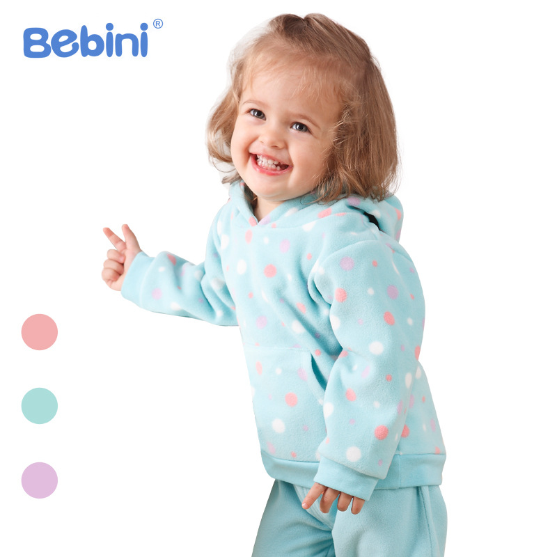 Bebini original babys set girl clothes baby girl clothing set spring and fall kids gift fleece baby girl sets discount sale