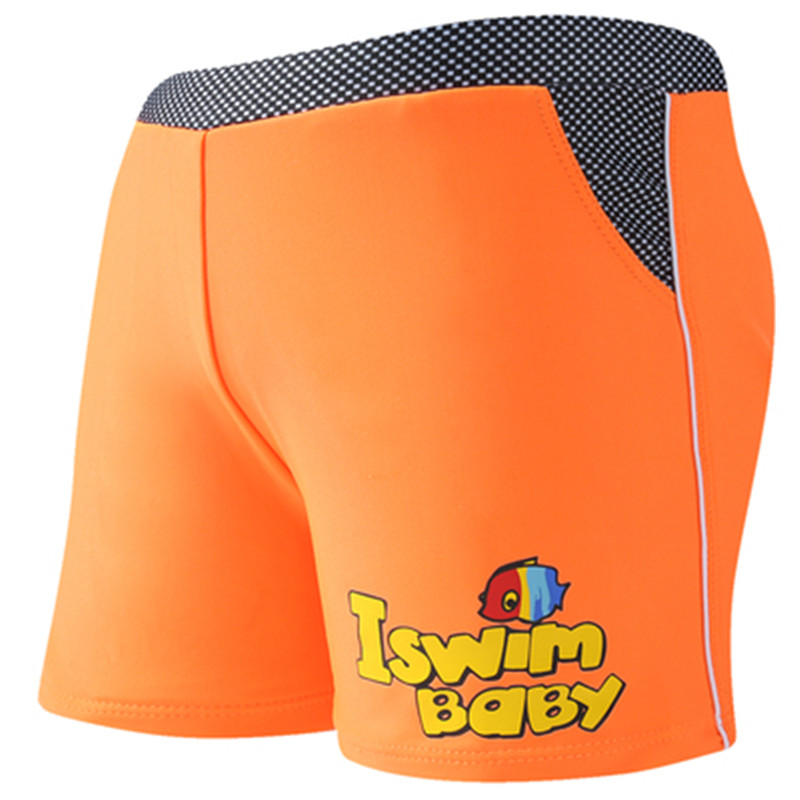 Summer Kids Swimming Trunks Children Swimsuits Boys Swimwear Swim Short Boxer Pants Cartoon Bear Pattern Print Bathing Clothes
