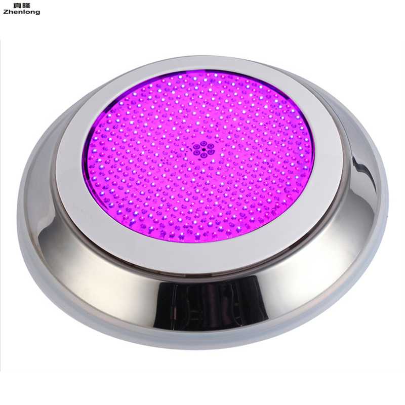 Sensible Stainless+pc Filled Led Swimming Pool Light Underwater Rgb Multi-color Ac12v Dc12v Wall Mounted Ip68 Waterproof Lights Pool Led Lamps
