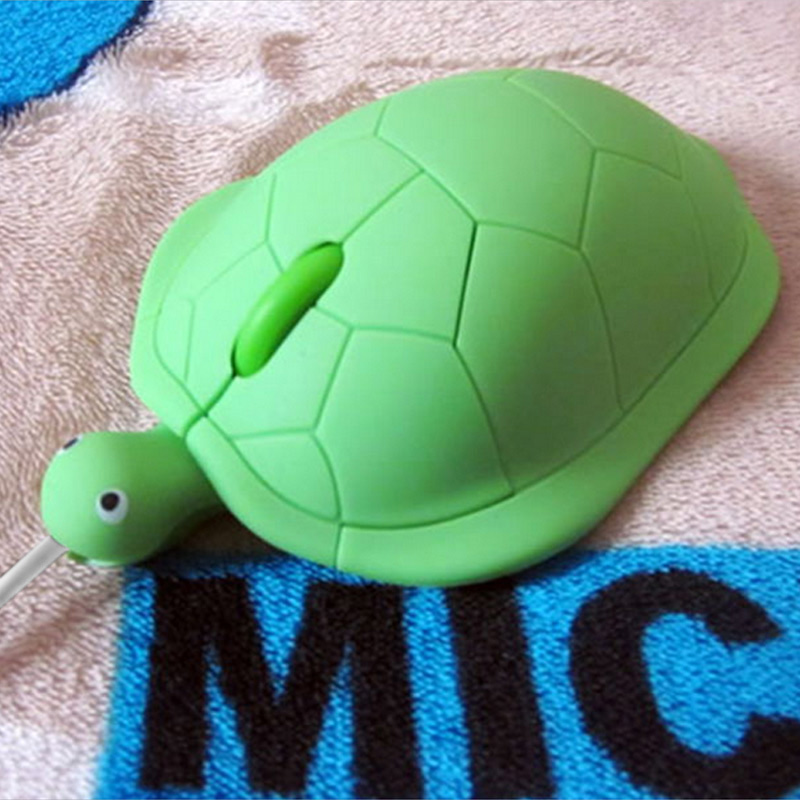 Hot Sale Cute Turtle Wired Mouse USB 2.0 800DPI 3D Optical Gamer Mice For Computer PC