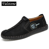 Valstone 2018 Leather Shoes Men Full Handtailor Vintage Sneakers Huarache Moccasins Non Slip Super Hot Flats