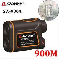 SNDWAY Telescope Trena Laser Rangefinders Distance Meter Digital 6X 900M Monocular Hunting Golf Laser Range Finder
