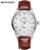 2017 Amantes de La Moda Relojes de Cuarzo de Aleación De Marca Mujeres de Los Hombres de Cuero Casual de Negocios de Lujo Reloj Pareja relojes masculino del relogio