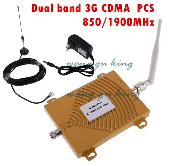Set completo Dual Band PCS 1900 mhz CDMA 850 mhz Mini Ripetitore di Segnale Del Telefono Cellulare Ripetitore Del Segnale CDMA PCS Segnale amplificatore con AntennaSet completo Dual Band PCS 1900 mhz CDMA 850 mhz Mini Ripetitore di Segnale Del Telefono Cellulare Ripetitore Del Segnale CDMA PCS Segnale amplificatore con Antenna
