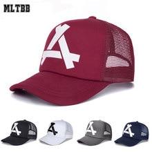 Nuevo verano de béisbol de malla gorra de sombrero del Snapback de béisbol  de moda sombreros de camionero ajustable gorra sombre. 0ba0d9ba594