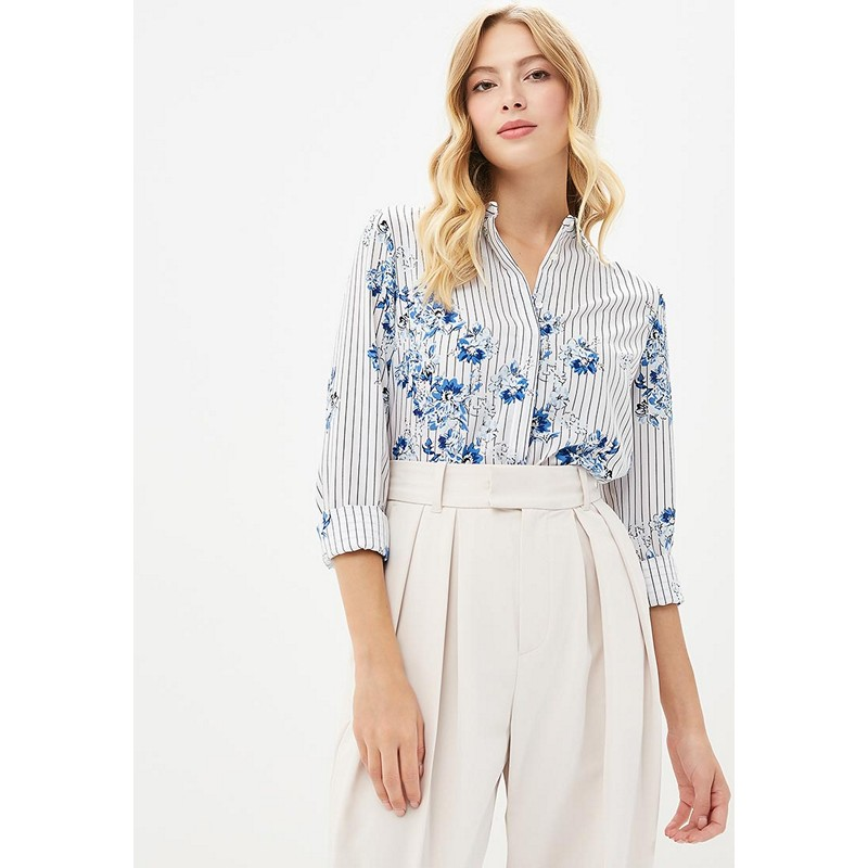 Blouses & Shirts MODIS M182W00383 blouse shirt clothes apparel for female for woman TmallFS blouse 0800701 23