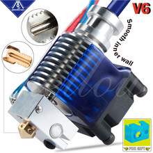 3D Printers Accessories Trianglelab E3D V6 J-head Hotend Extruder Kit Compatible PT100 Direct Bowden Extruder(China)