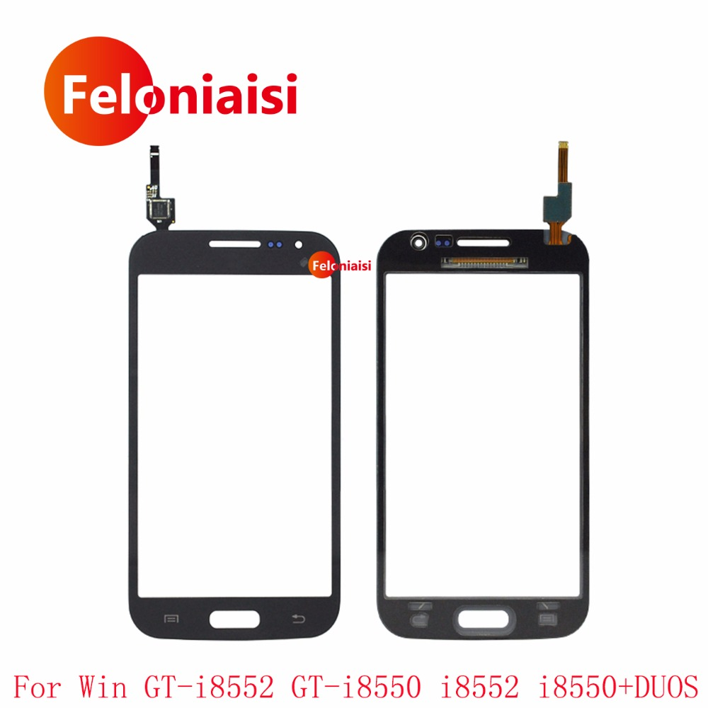 """10Pcs/lot 4.7"""" For Samsung Galaxy Win GT-i8552 GT-i8550 i8552 i8550 DUOS Touch Screen Digitizer Sensor Outer Glass Lens Panel"""