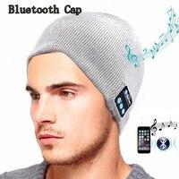 High Quality Bluetooth Smart Cap Headphone Headset Earphone Soft Warm Beanie Hat Speaker Music Hat Headphones