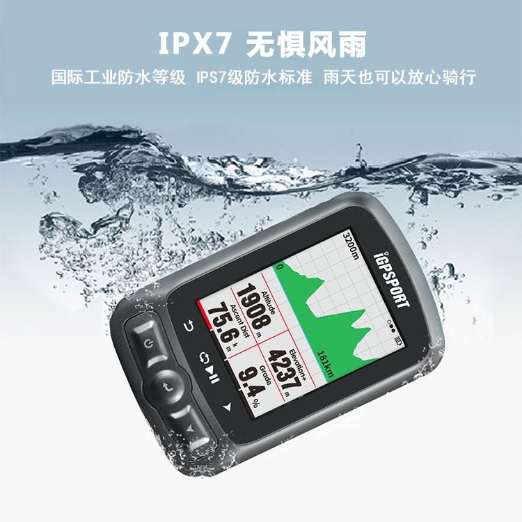Автоматическая подсветка iGS618 я gps порт gps трекер Водонепроницаемый gps Спидометр навигации Спидометр IPX7 3000 часов хранения данных