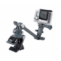 For Gopro Accessories The Jam Adjustable Music Mount 360 Rotation Music Clip Adjustablet Stand For Gopro