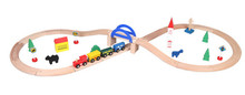 New Wooden Baby Toys Situational Combination removable track Educational Gifts