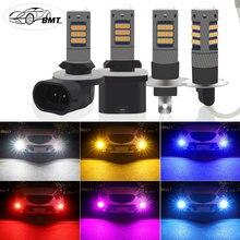BMT H1 H3 LED h27w2 h27w/2 LED Bulb h21 h27w 881 h27w1 42smd Car led fog lights cars daytime running lights 12V LED Auto Lamp