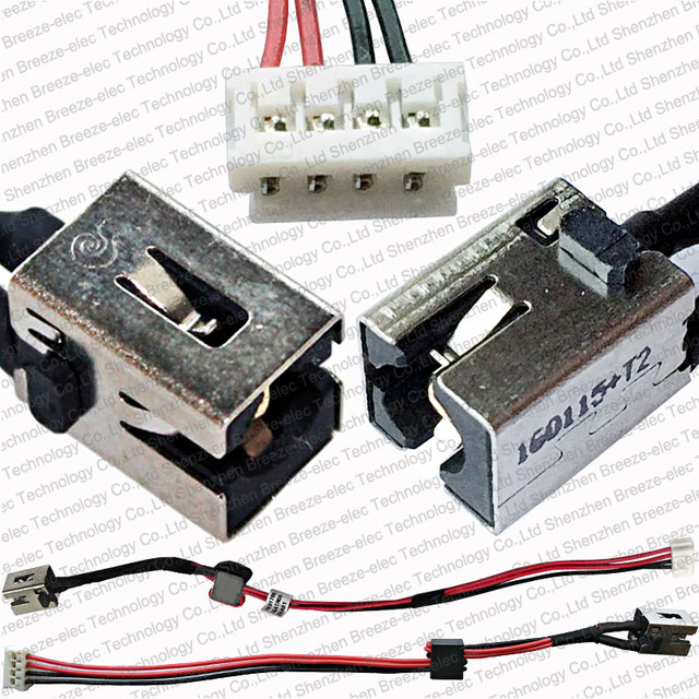 100% Tested new Laptop AC DC POWER PORT JACK socket Cable wire ...