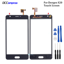Original Touch Screen For Doogee X20  Touch Panel Glass Replacement For Doogee X20  Touch Panel Free Tools touch panel original for gt gunze usp 4 484 038 g 28 for touch membrane screen touch pad