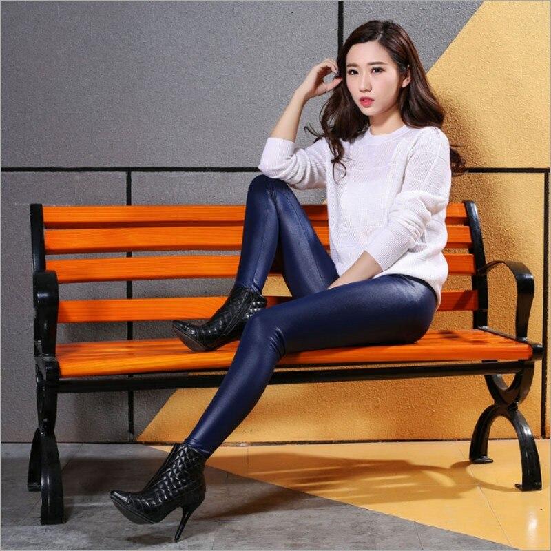 Aliexpress.com  Buy 2017 lady push up slim leggings fashion new style hot shine legging girl ...