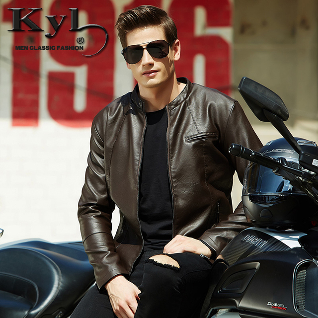 Free Shipping 2015 New Mens PU leather Jackets Jaqueta De Couro Masculina,Biker Jacket BGS603
