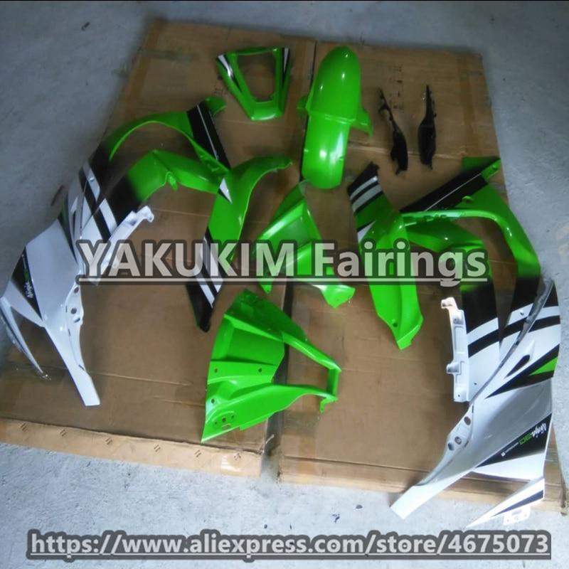 Front Nose Cowl Fairing for Kawasaki Ninja ZX-10R 2006-2007 Green Injection ABS