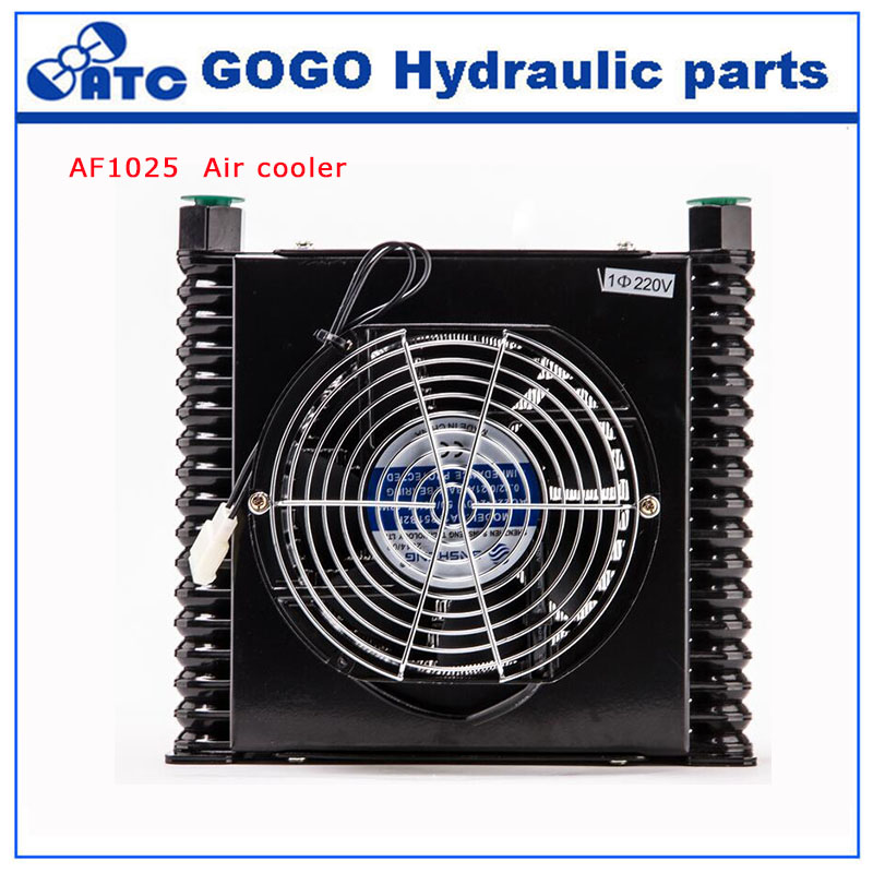 Air Cooled Oil Cooler Hydraulic Station Black Air Condenser AF1025 Evaporator Unit universal