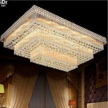 Nhà sản xuất bán buôn vàng phòng khách hình chữ nhật hàng đèn ngủ S LED Đèn Trần Rmy-069