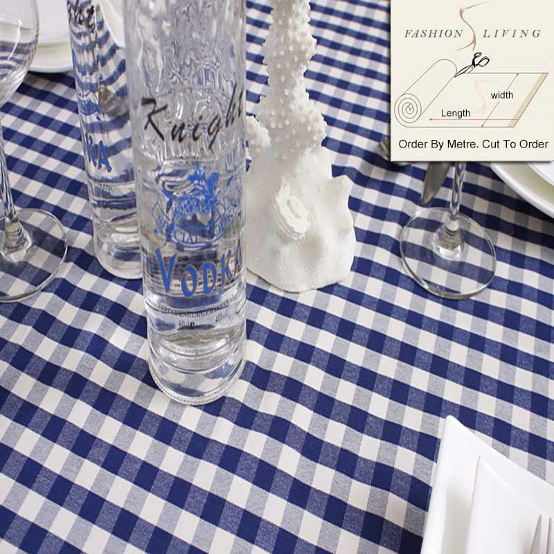 Gingham Tablecloths Fabric