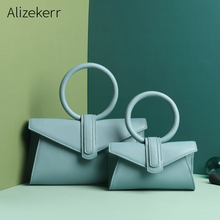 Women Genuine Leather Handbag Brand Luxury Ring Top Handle S