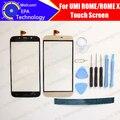 UMI ROMA/ROMA X Digitador Da Tela de Toque de vidro 100% Digitador Touch Screen Original para UMI ROMA ROMA X + Ferramentas gratuitas + Adesivo