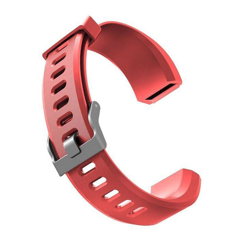 Image 5 - Silicone Replacement Strap Soft Scratch Resistant Wrist Band Watchband Fitness Tracker Comfortable For ID115 Plus-in Smart Accessories from Consumer Electronics