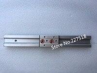 1pcs Double axis roller linear guide SGR10 L300mm+1pcs SGB10UU (4 wheel block, L88) multi axis core linear Motion slide rail