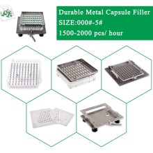Best quality 304 stainless steel Semi-automatic capsule maker, easy operate empty filling kit