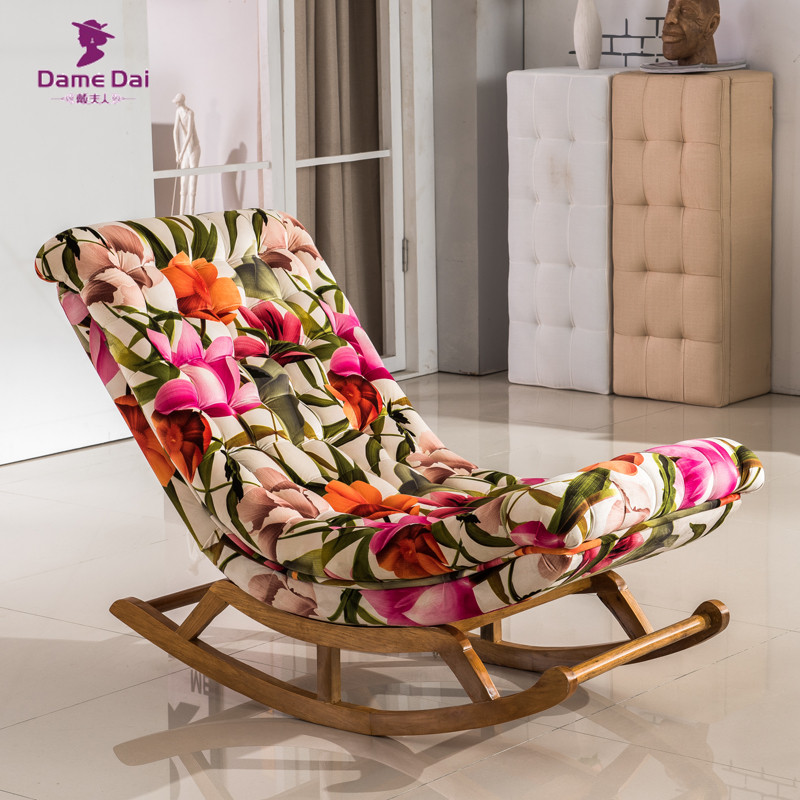 chair Adult rocking upholstered