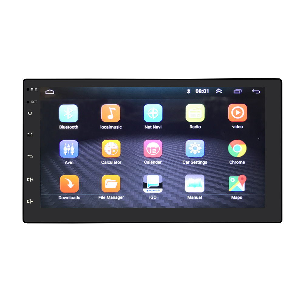 7 Inch Touch Screen Voice Control WIFI GPS Navigation Car Stereo Online Quad Core HD Radio Bluetooth MP5 Player Entertainment(China)