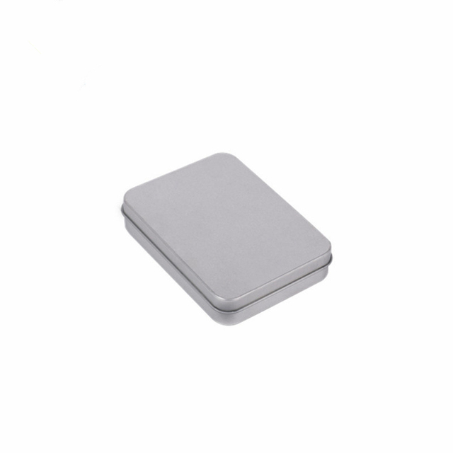 223a19300 12PCS Small Metal Box For Electronic Products Packaging 115*85*22mm Tin  Storage Box