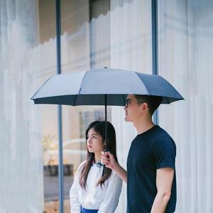Image 5 - YouPin WD1 자동 비오는 우산 맑은 비오는 여름 알루미늄 방풍 방수 UV 파라솔 양산 남자 여자 사용
