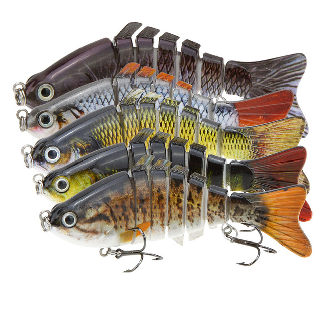 Lifelike Multi-Jointed Hard Body Swimbait SB74