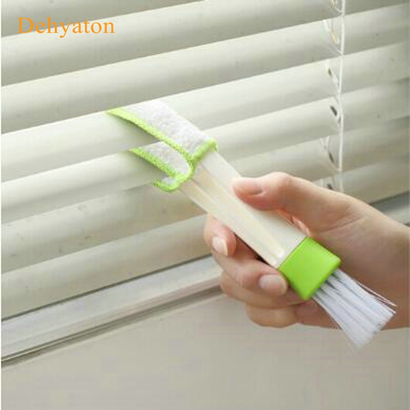 Useful Car Air Conditioning Vent Blinds Brush Cleaning Kits Car Cleaner Duster car styling