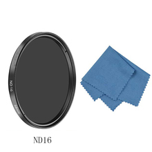 SIOTI 37/40.5/43/58/62/67/72/82MM ND16/ND32 Camera Filter with Cleaning Cloth for Canon for Nikon for Sony for DSLR Camera Lens zomei pro ultra slim mcuv 16 layer multi coated optical glass uv filter for canon nikon hoya sony lens dslr camera accessories